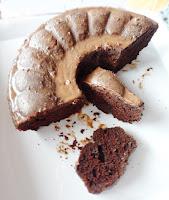 Ciasto mocno kakaowe z czekoladą