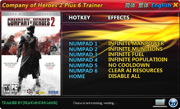 free download trainer company of heroes 2
