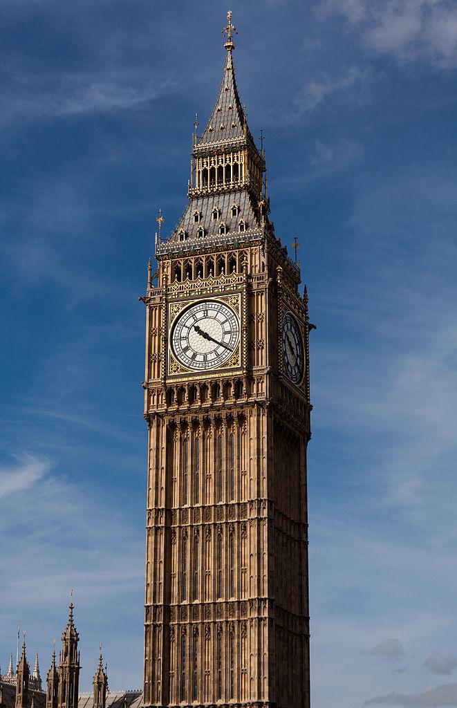 Big Ben or Clock Tower in LondonLondon Clock Tower Drawing