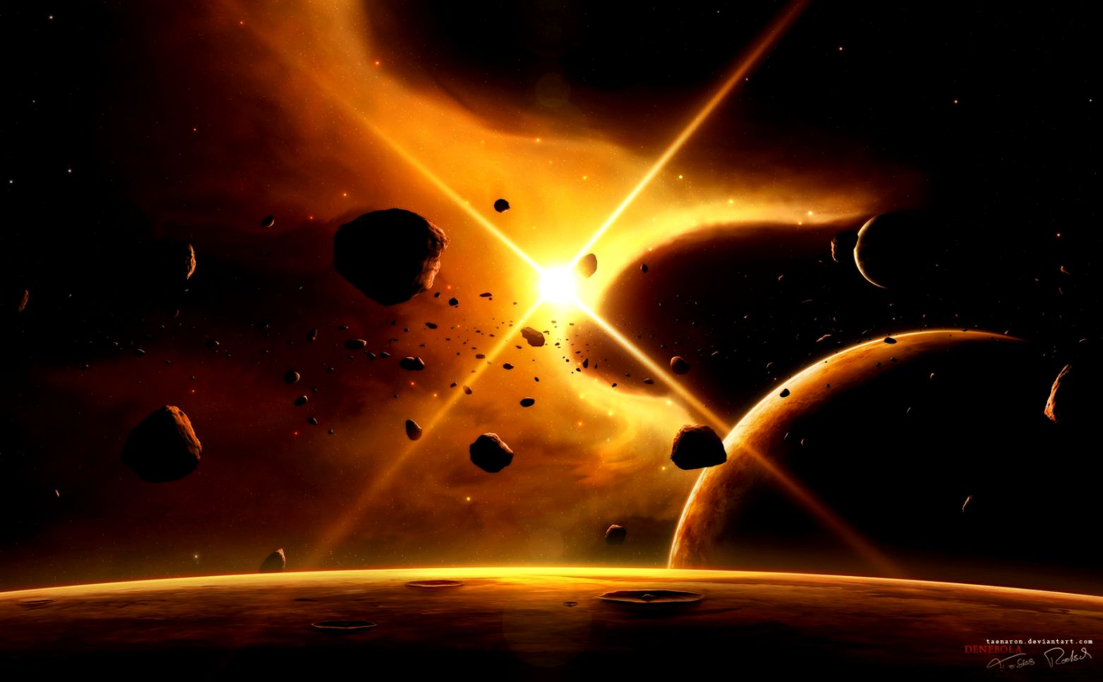 Space Digital Universe Planets Hd Wallpapers