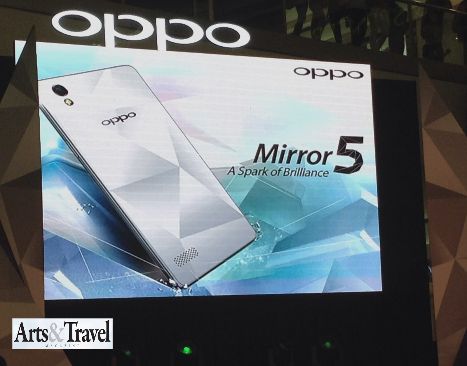 A Spark Of Brilliance Oppo Launches Mirror 5 And Presents Sarah 16gb Create That In Your Life The