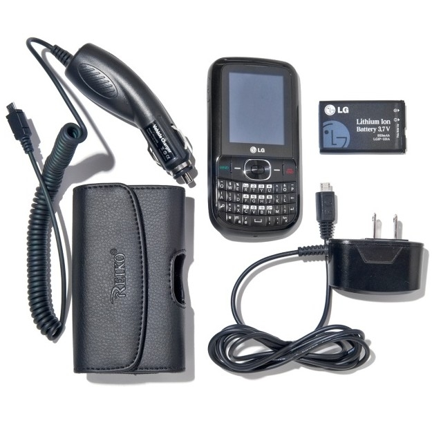 Tracfone LG 500g With 1200 Minutes and Triple Minutes for Life - $79