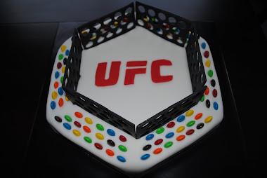 UFC Bday Cake