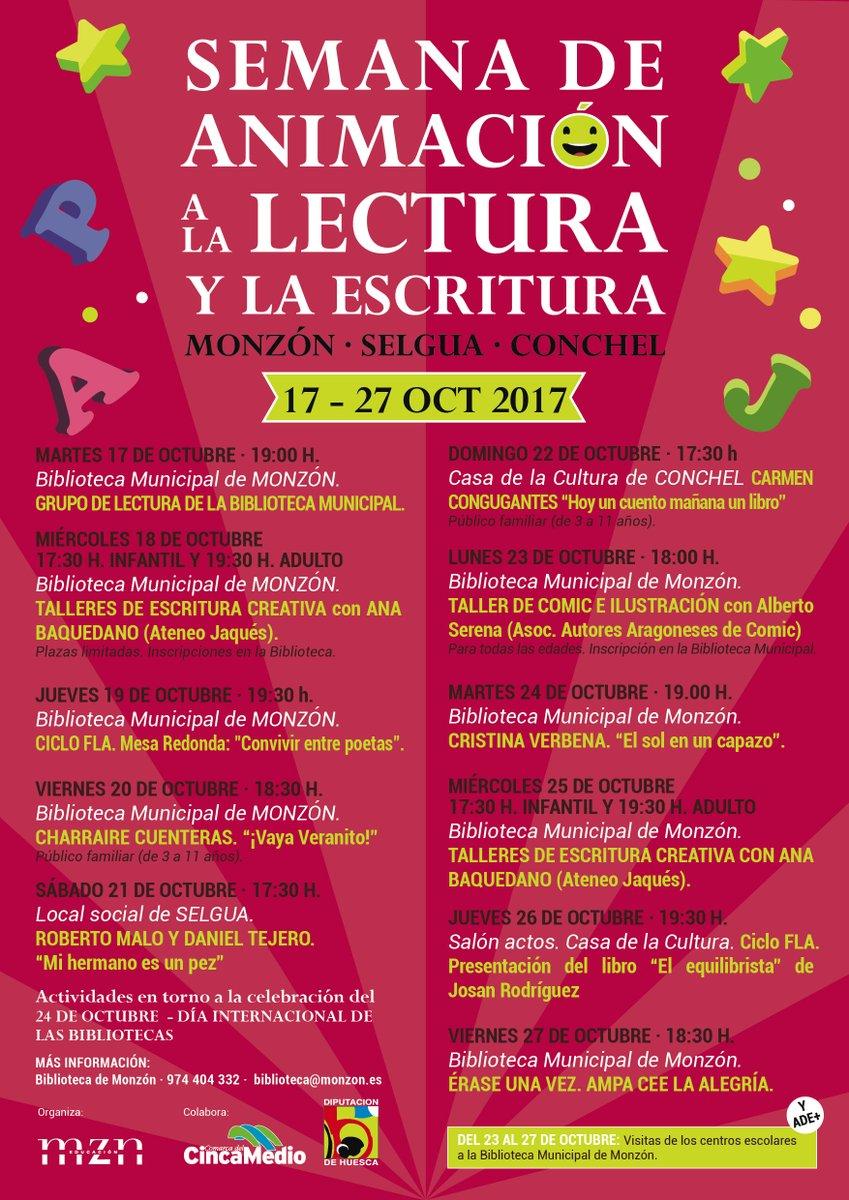 MONZÓN (HUESCA) 18, 19 y 25 OCTUBRE