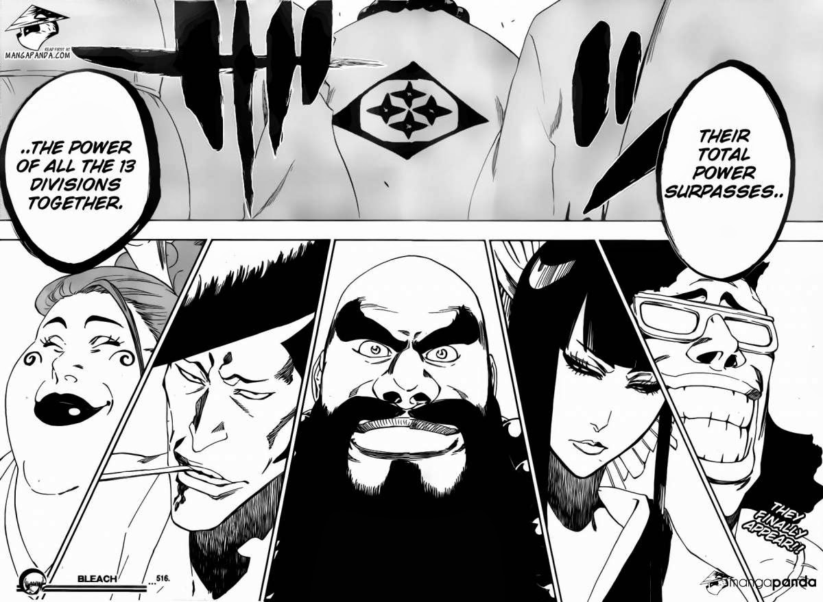 The Ultimate Anime Blog Five War Potentials In Bleach