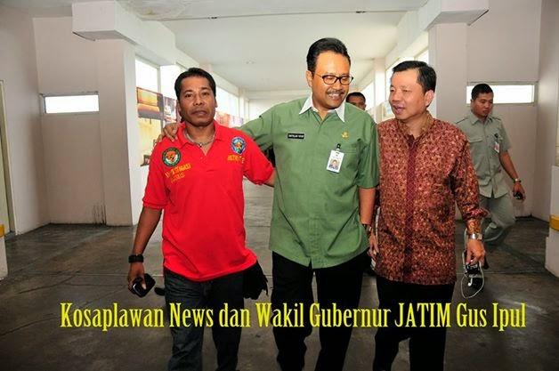 GUS IPUL ( Wakil Gubernur Jawa Timur )