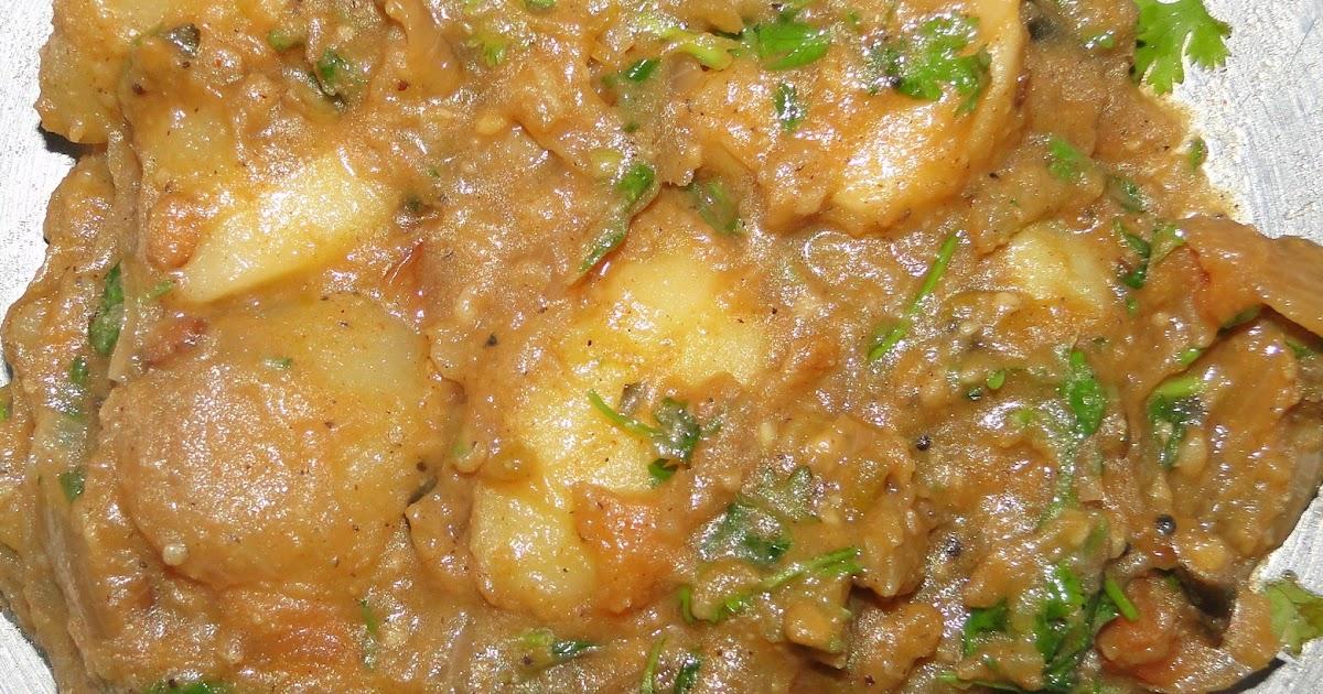 RAMADEVI RECIPES: vurlagadda kurma / potato masala curry ...