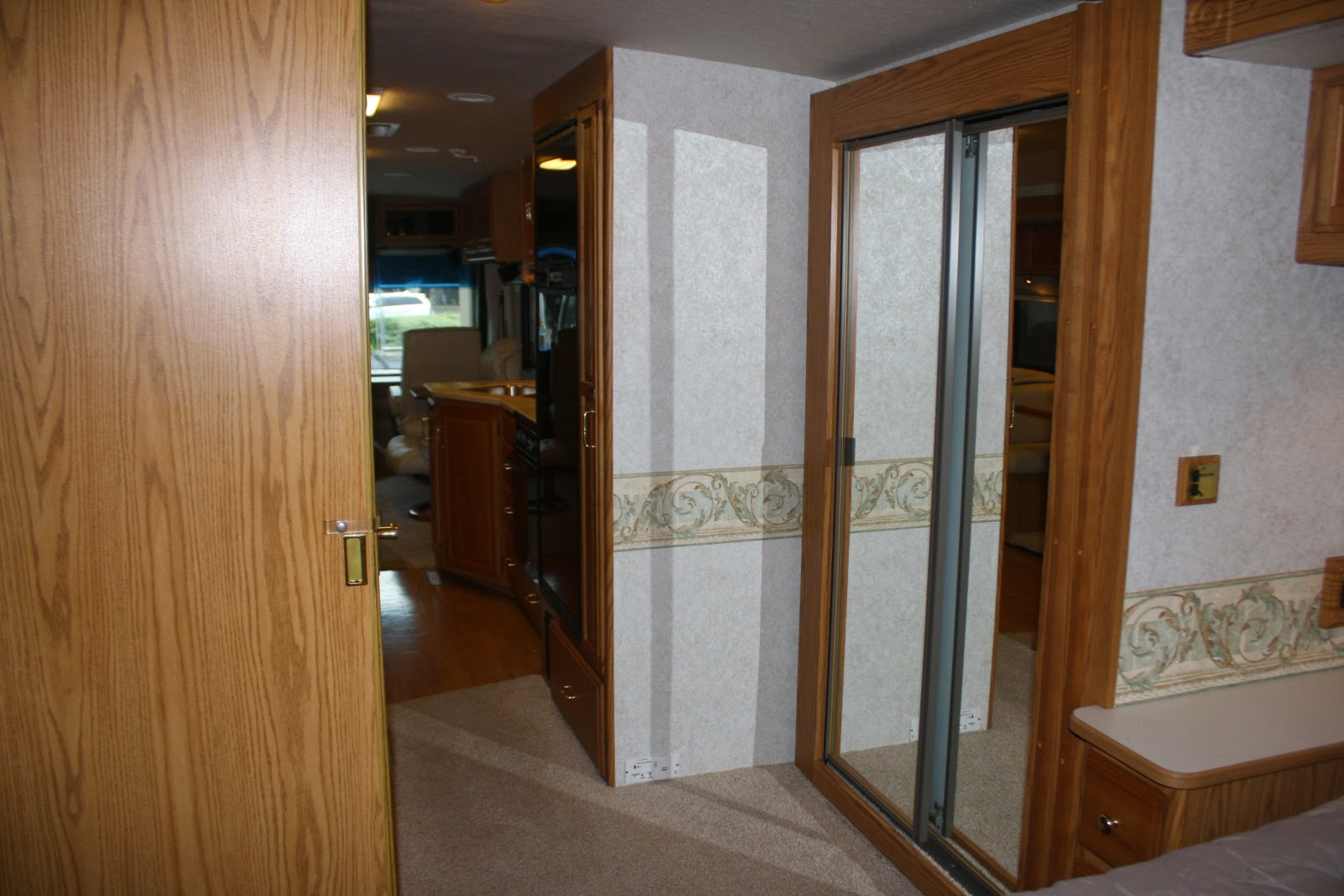 "Interior of the ""new to us"" RV :: OrganizingMadeFun.com"