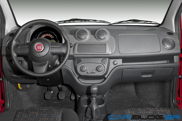 Fiat Uno 2013 Vivace Painel