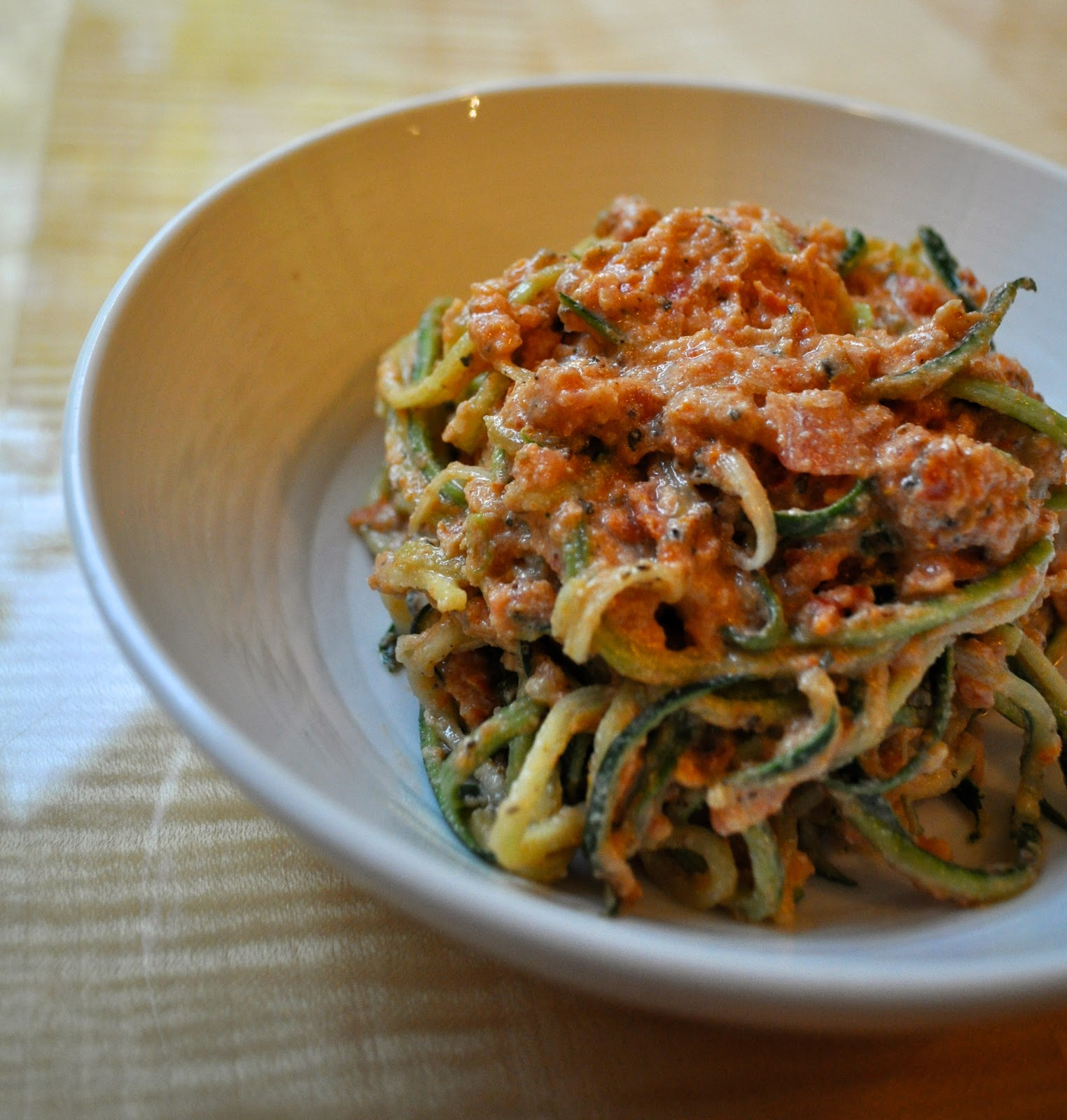 how to make zucchini noodles taste like pasta