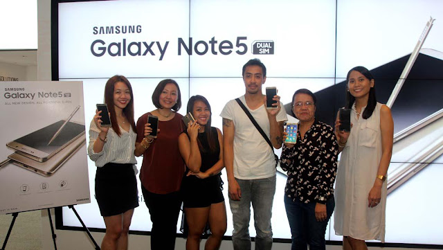 Galaxy Note5 Luck 5 on A Ride Promo Winners