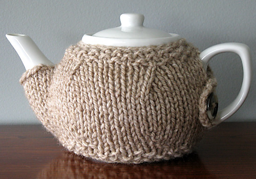 Free Teapot Cosy Knitting Pattern : Miss Julias Patterns: Free Patterns - 20+ Tea Cozy to Knit & Crochet