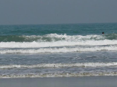 Wave in Cox's Bazar Sea Beach
