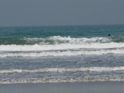 Wave in Cox's Bazar Sea Beach
