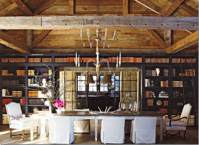 Andrew Barnes Lifestyle Dining Room Library Combination