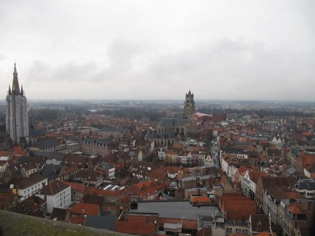 vistas campanario Halle, vistas torre Belford