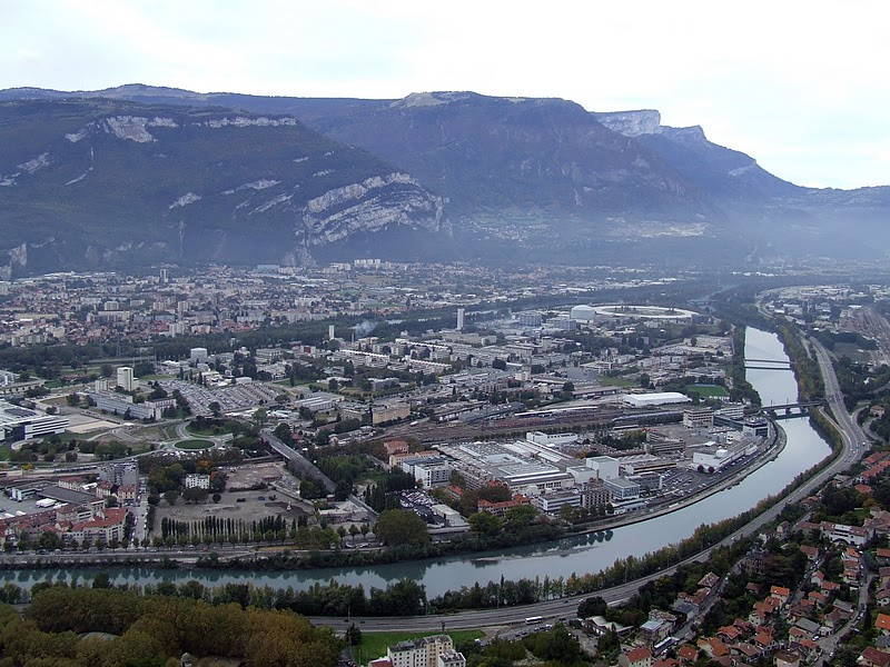 Vis le architecture urbanisme paysage patrimoine for Superficie grenoble