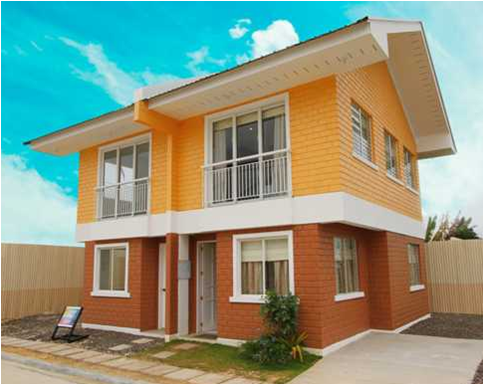 House and lot for sale in cebu and bohol model units of for Duplex units