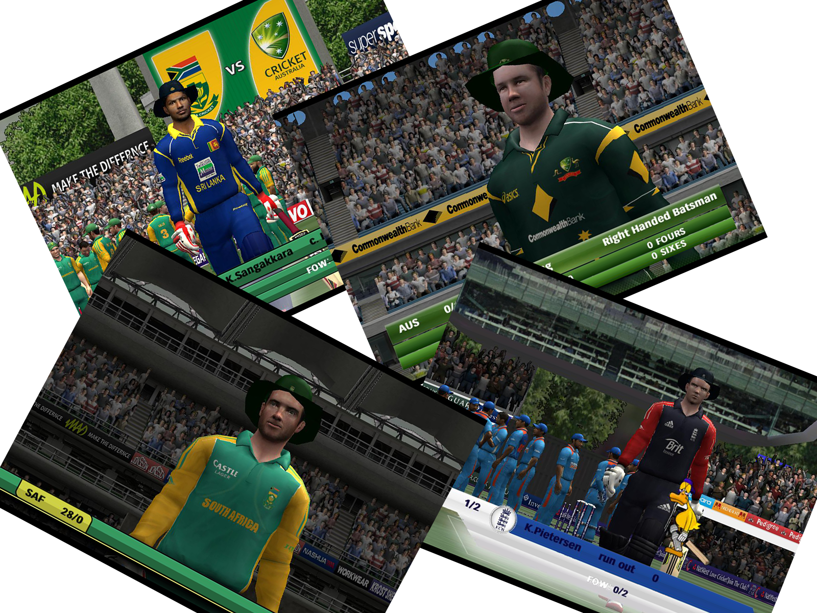 Hat for Batsmen Patch - EA Cricket 07