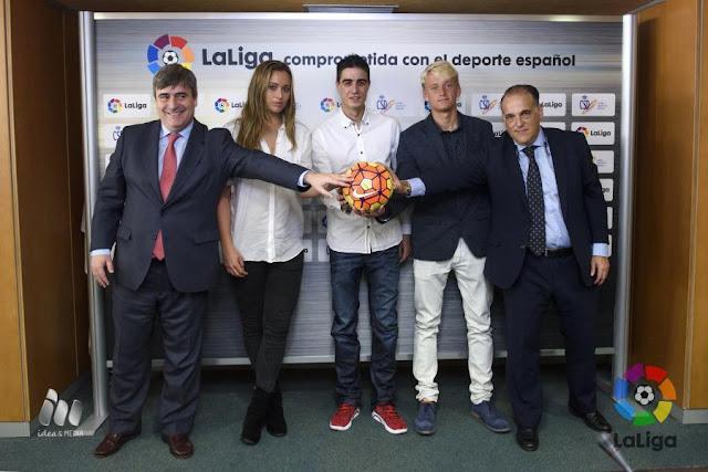 LaLiga patrocinará a Joel González, Nicola Kuhn y Paula Badosa