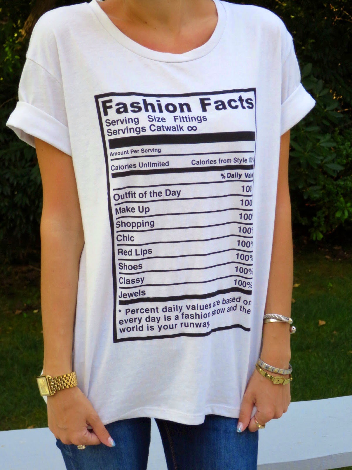 zara fashion facts tee shirt