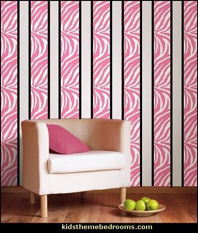 Decorating Theme Bedrooms Maries Manor Zebra Print Bedroom - Zebra print wall decals