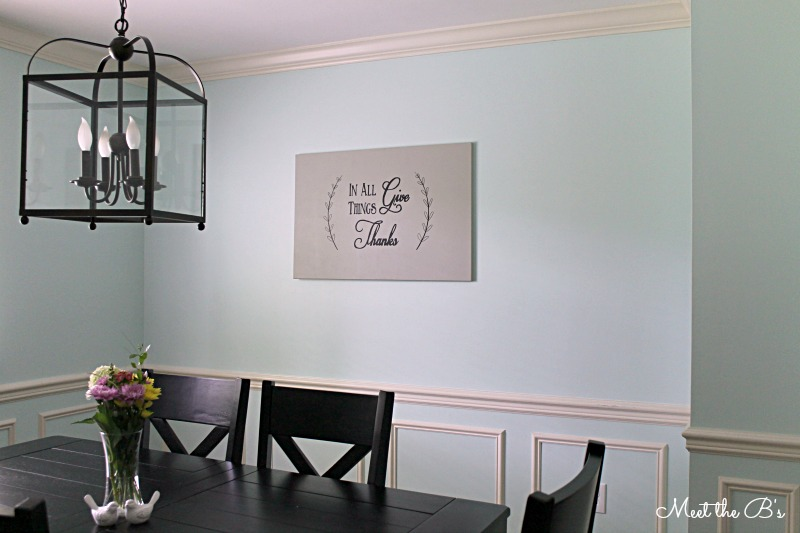 Dining room wall art - The Inspired Hive