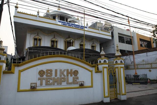Sikh Temple Gurdwara (Pasar Baru, Jakarta)