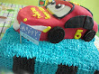 3D Fondant Car Birthday Cake...