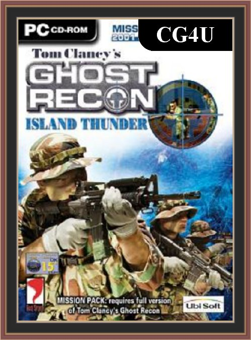 Tom Clancy's Ghost Recon - Island Thunder PC Game Cover | Tom Clancy's Ghost Recon - Island Thunder PC Game Poster