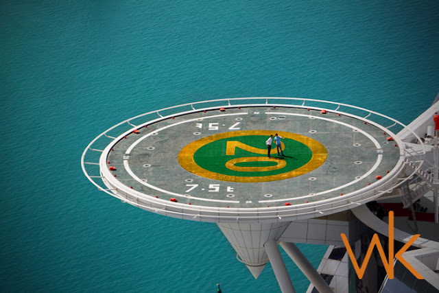 Offmag Flying Tennis Court At Burj Al Arab Dubai