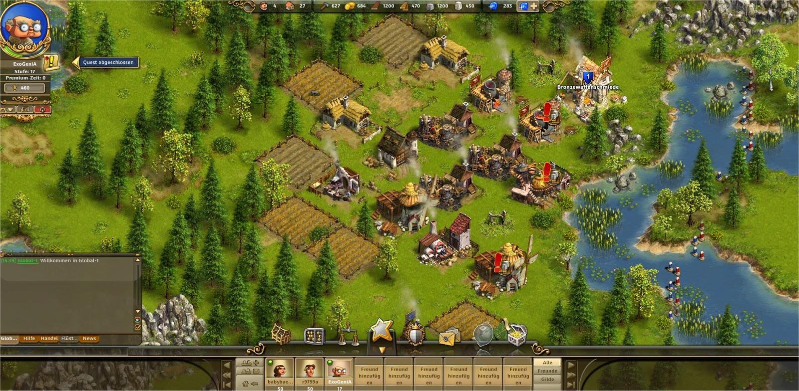 Die Siedler Online Felder
