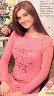 Modelos De Sweaters En Dos Agujas