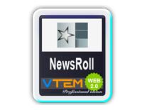 VTEM Newsroll v1 - VTEM Joomla Extensions