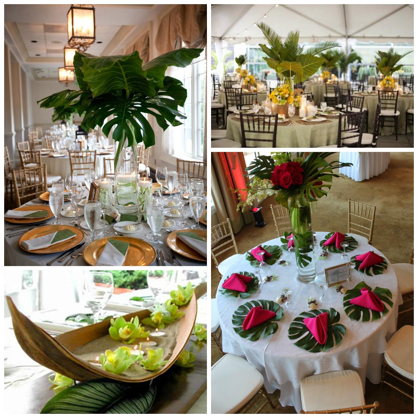 inspiracion para una boda tropical blog bodas mi boda gratis decoracion mesas