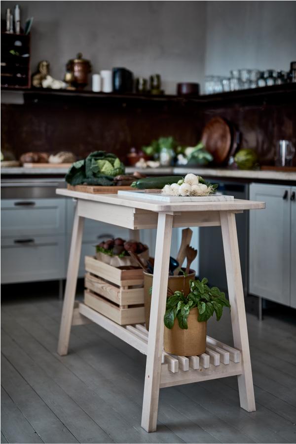 Serie norraker ikea puro stile scandinavo blog di - Banco da lavoro cucina ...