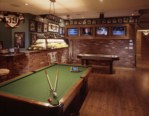 all in the detail tips for designing a man cave