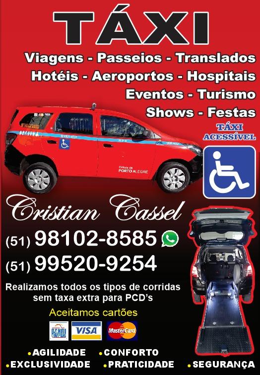 Precisa de Táxi em Porto Alegre?