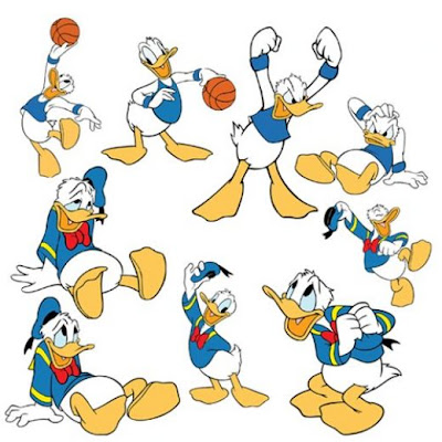 Donald Duck Family Images