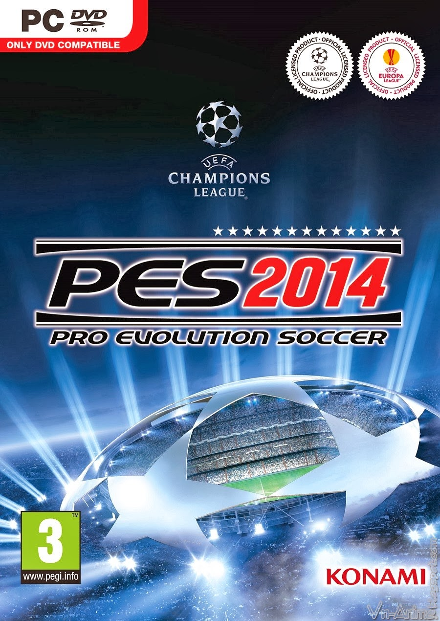 Download Game Pro Evolution Soccer 2014 - Full + Key + Crack