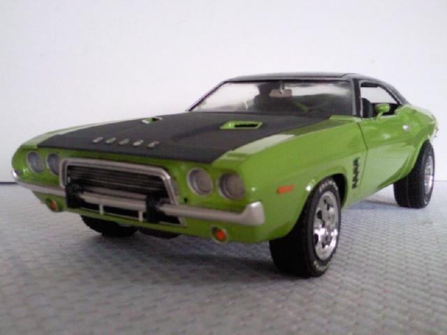 Mis Modelos A Escala Dodge Challenger 73