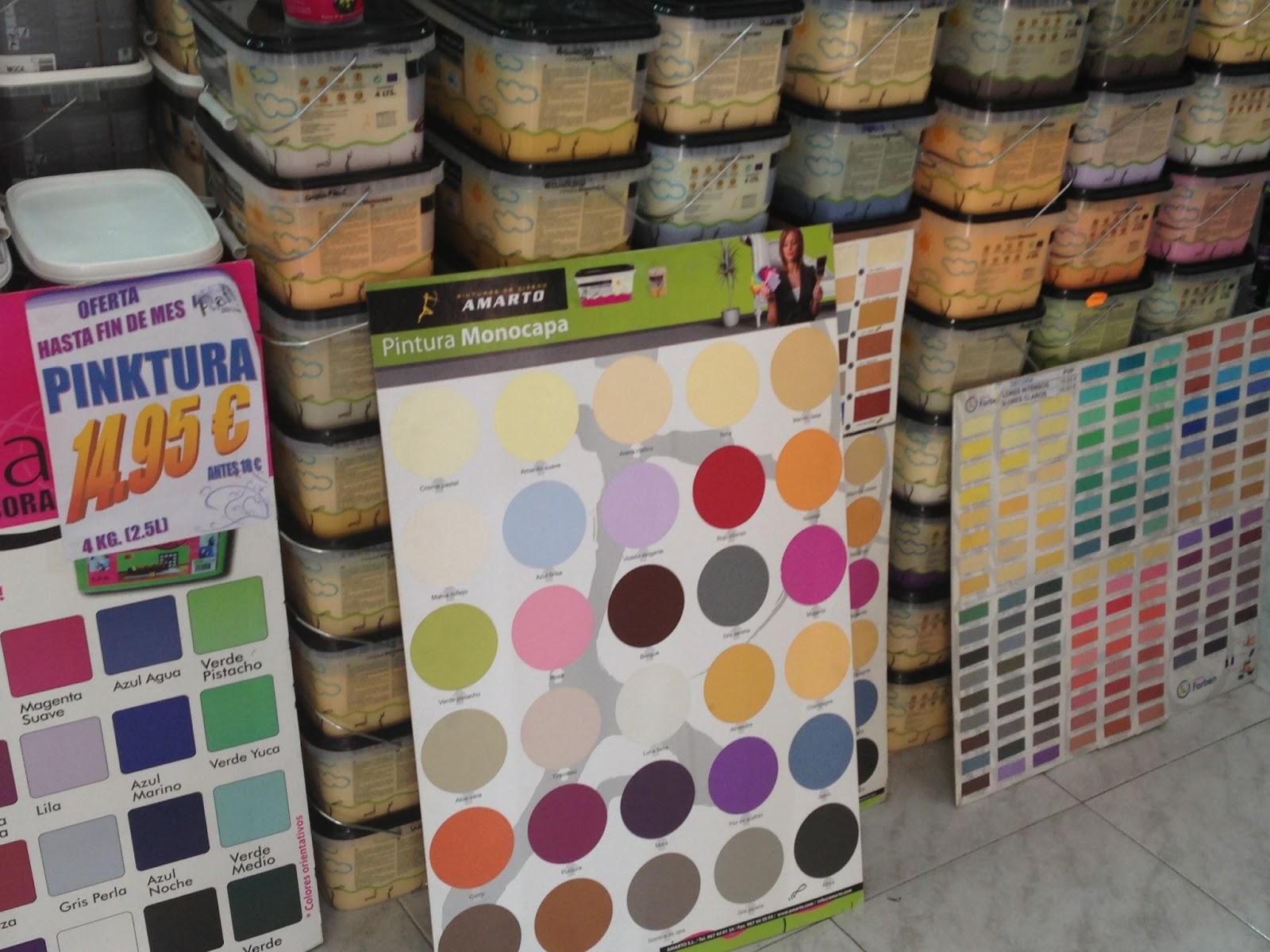 Red de comercio tico cruz humilladero pinturas rafi m laga - Mejor pintura plastica ...
