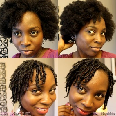 Finger Coils Natural Hair