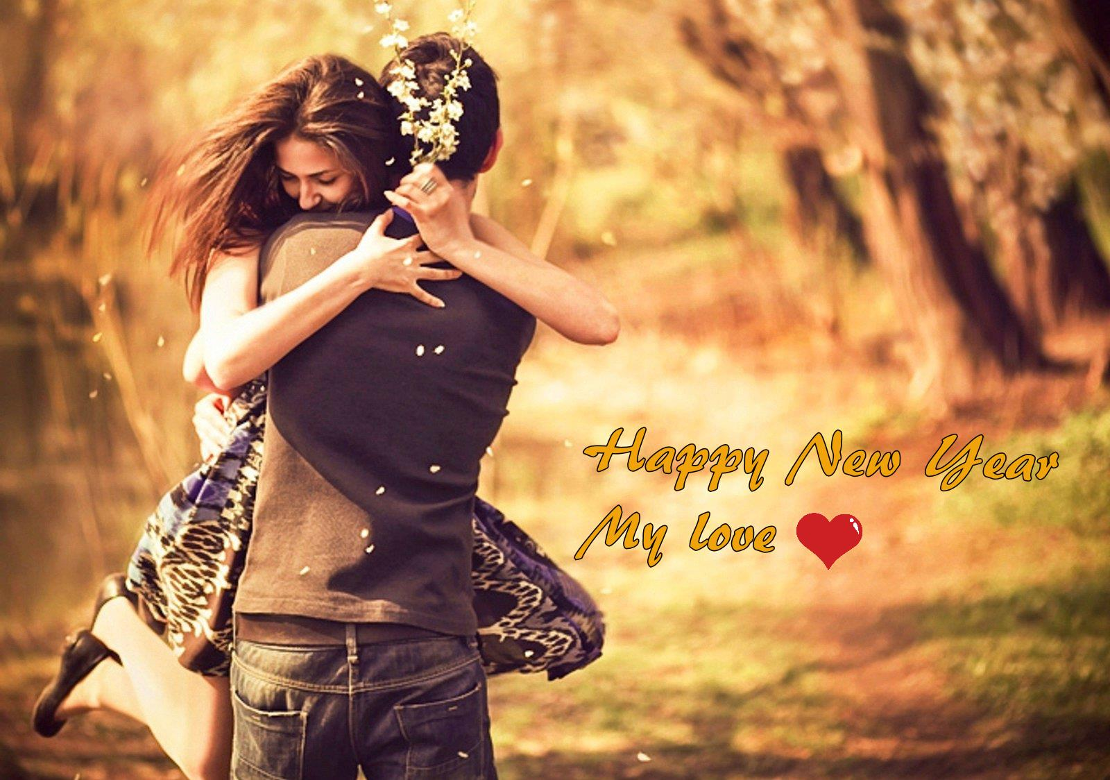 Happy New Year 2016 Greetings For Love In Whatsapp