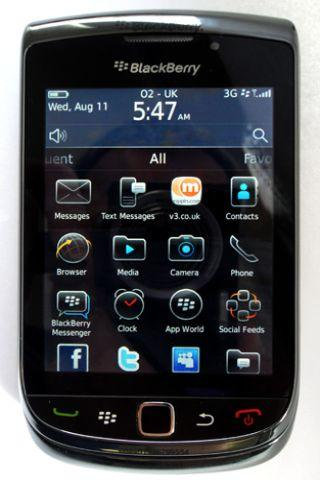 BlackBerry Torch Screen android