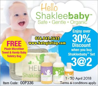 PROMOSI: SHAKLEE BABY