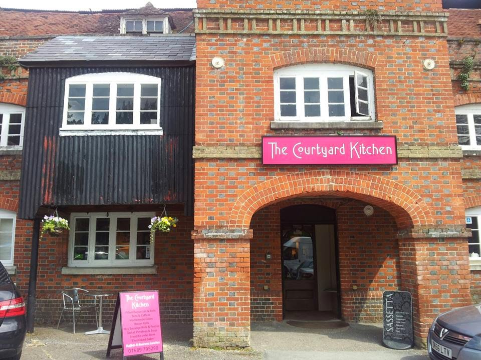 Headed Up To Botley This Morning To Visit The Courtyard Kitchen, Which Is  In The Yard At Botley Mills.