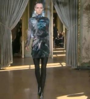 Women Fashion - Ungaro Show Fall / Winter 2011/ 2012 Paris Fashion Week