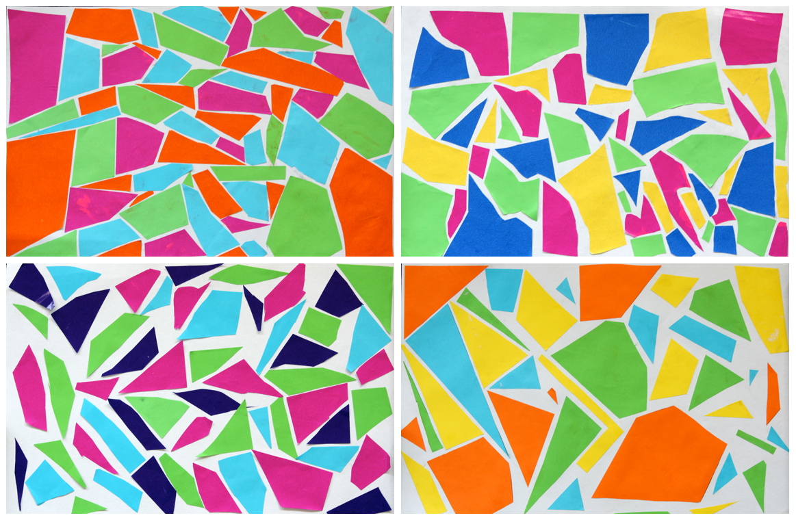 Art With Mr Hall: Abstract Mosaic Collage II