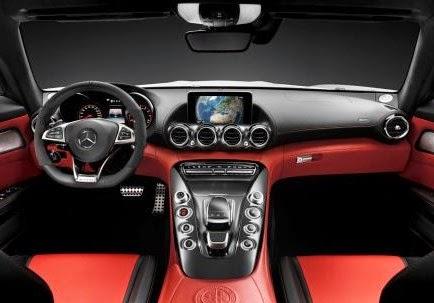 2016 Mercedes AMG GT3 interior